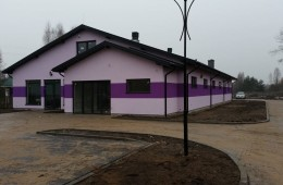Budowa budynku handlowego -Jadów Letnisko A.D. 2014
